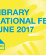 Website banner for the 2017 NextLibrary Festival